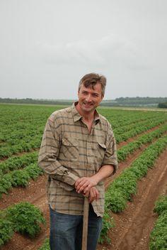 Marc-Antoine, producteur de Pompadour Label Rouge à Noyelles-sur-Mer, Picardie