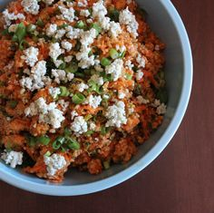Buffalo Chicken Quinoa Salad.