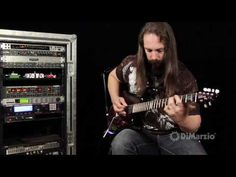 ▶ In the studio with John Petrucci - YouTube I WANT THIS GUITAR!...SWEET!!!