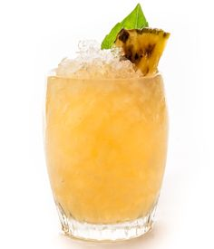 The Piñata - Vanilla and caramel notes from aged rum pair well with the smoky and sweet flavors of freshly grilled pineapple in bartender Vincent Lee's summer-themed play on a traditional Smash.    From @Bon Appetit Magazine!