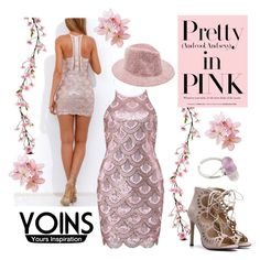 """Pretty In Pink"" by seadbeady ❤ liked on Polyvore featuring yoins"