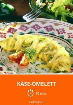 Käse-Omelett - smarter - Zeit: 10 Min. | eatsmarter.de