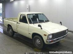 Toyota Hilux 1978. This was Peach's car in Nigeria. We drove it almost to Côte d'Ivoire and back. She paid $3000, new, but it was paid for by the school she worked for there. We got stopped for not having the commercial Tare weights painted on the back of the rear bed, like commercial cars are required to have, and I had to argue our case a few days later in a traditional (not 'English') African court. They waived the fine, but we had to paint it on, even though it wasn't a commercial vehicle.