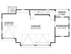House Plan - G) Design from Allison Ramsey Architects Architects, House Plans, Garage, Floor Plans, Notes, Exterior, How To Plan, House Styles, Design