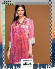 Nishat Linen Ready To Wear Winter Collection 2017-18   PK Vogue