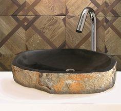 Trendy home: Kameninové umývadlá / Stone washbasin