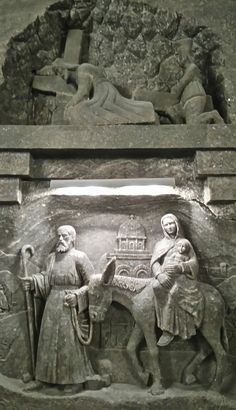 The Chapel of Saint Kinga, the biggest and the most beautiful and impressive chapel and place under he ground in Wieliczka Salt Mine Wieliczka Salt Mine, Buddha, Most Beautiful, Saints, Statue, Places, Art, Art Background, Kunst
