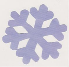 DIY Snowflake Applique Template 4 Sizes by jammasgirls on Etsy, $2.50