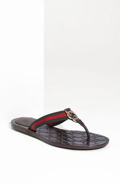 Gucci 'GG' Logo Sandal available at #Nordstrom