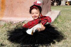 Scottish Lassie tutu Costume ... Perfect for when we all have kids!