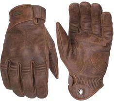 "ESKA ""Silky Prime"" calfskin motorcycle gloves with knuckle protectors. ESKA Gloves at ESKA Silky Prime calfskin motorcycle gloves with knuckle protectors. ESKA Gloves at Biker Gloves, Leather Motorcycle Gloves, Leather Work Gloves, Biker Gear, Motorcycle Boots, Mens Brown Leather Gloves, Hand Gloves, Men's Gloves, Fishing Gloves"