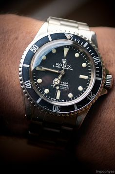 Rolex Submariner 5512, via Flickr.