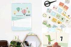 Neu im Shop: Familienplaner 2017 + DIY Memospiel