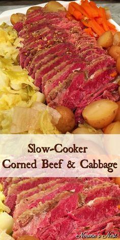 Cornbeef And Cabbage Crockpot, Crockpot Cabbage Recipes, Corned Beef Recipes, Corn Beef And Cabbage, Beef Recipes For Dinner, Corned Beef And Cabbage Recipe With Beer, Potatoes Crockpot, Corned Beef Brisket, Cooking Corned Beef