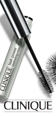 The perfect #bridal mascara: Out-to-there length and fine-tuned separation plus a feathery-soft look and feel. Stays put for up to 12 smudge-resistant hours. Clinique Lash Power Feathering Mascara. #Wedding