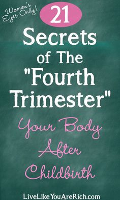 Fourth Trimester Secrets: Your Body After Childbirth