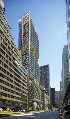 Hadid, Koolhaas and Rogers Losing Designs for Park Avenue Tower Unveiled | Gallery | Archinect