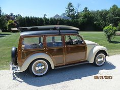 1967 Volkswagon Beetle woody wagon