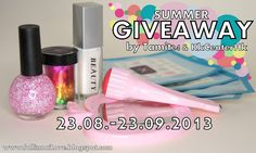 fall in ...naiLove!: Summer Giveaway! http://fallinnailove.blogspot.com/2013/08/summer-giveaway.html#more