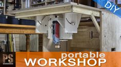 A Portable Workshop for those of you that don't have much space and a compact cabinet you can store and carry all your stuff to work in other locations. www....