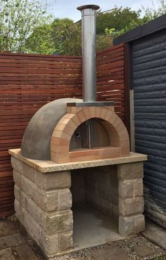 Calabrese Entertainer Precast DIY Refractory Woodfired Pizza Oven Kit