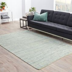 Wonderful Cozy Sofa With Raw Oak Base U2013 El Caregoon De Quercia. Threadbind Newman  Hand Woven Gray Area Rug Rug Size: 9u0027 ... Amazing Design