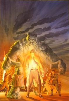The Incredible Hulk Omnibus by Alex Ross