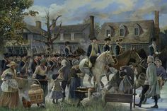 Washington's army at Yorktown, VA 1781