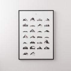 Mountains ABC Framed Art | Schoolhouse Electric