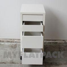 MyFlatPack - Micke Drawer Unit on castors $239.00