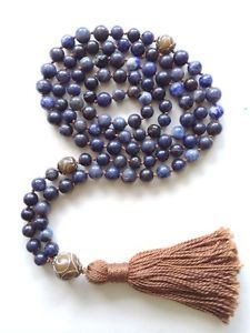 Mala Tibetan Necklace Handmade Meditation Beads - Can't wait to get mine, maybe I will embellish them with stones and trinkets.