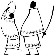 африканские мотивы African Drawings, African Art Paintings, African Quilts, African Textiles, Africa Art, Black Artwork, African Dolls, Black Women Art, African American Art