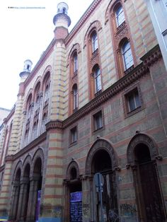 Rumbach synagogue, Budapest: http://ilanaontheroad.com/2014/09/18/a-tour-of-jewish-budapest/