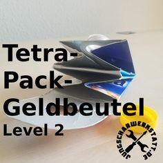 Tetrapack-Geldbeutel 2 - ein Gastbeitrag von Johanna