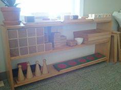 Mindful Montessori: Montessori Classroom Photographs: Math Shelves