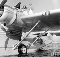 the Catalina business man Thomas W Kendall rebuild as a flying yacht. Click for more photo's | Pin by scann R