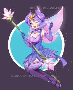 Elementalist Lux: Mystic by Hichiyan
