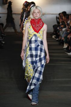 R13 Spring 2018 Ready-to-Wear Collection Photos - Vogue