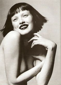 Vogue US March 1998 This Years Model -Karen Elson by Irving Penn