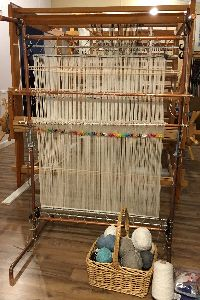 Plans for a Copper Navajo Style Loom based on an Archie Brennan design with modifications for portablility and ease of use. This loom is larger than Brennan models, and includes two shaft bars for …