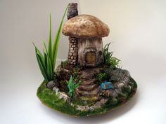 #mushroom #house #fairytale #masal #diorama #scale #gulipeksanat #monaclay #clayart #art #artist #home #lake #forest #village #mantar #miniature #mini #tiny #garden