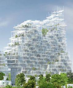 Green Architecture, Classical Architecture, Futuristic Architecture, Landscape Architecture, Architecture Design, Concept Architecture, Sou Fujimoto, Beach Porch, Brick Projects