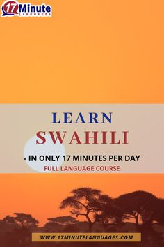 Learn Swahili with 17 minute languages. Speak Language, Learn A New Language, Sentence Construction, Social Studies Activities, Learning Methods, World Languages, Classroom Games, Elementary Education, New Words