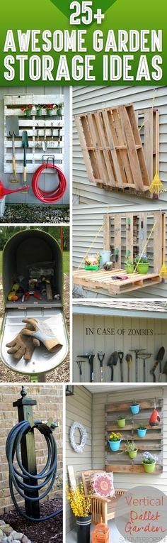 25+ Awesome Garden Storage Ideas For Crafty Handymen And Skilled Moms