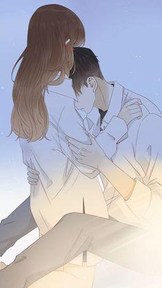 Anime Love Story, Anime Love Couple, Manga Love, Manga Couple, Cute Couple Drawings, Anime Couples Drawings, Anime Couples Manga, Anime Couples Hugging, Anime Couples Sleeping