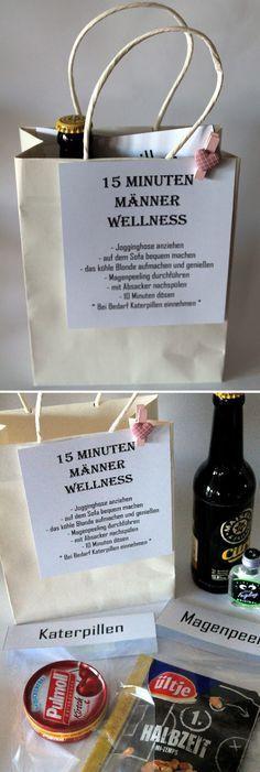 15 Minten Männer Wellness + Anleitung: DIY, Basteln, Selbermachen, Geschenke, Geschenkideen, Adventskalender, Weihnachtskalender...