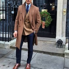 """thedappersuit: """"What do you guys think of this outfit? @davidgandy_official #mensfashion #mensstyle #fashion #style #styleicon #suit #blazer #trendy #dapper #sartorial #tuxedo #tie #shoes #loafers #swag #tailored #tailoredsuit #davidgandy #socks..."""