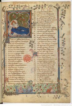 Roman de la Rose, 1401-1500.  Bibliothèque nationale de France, Département des manuscrits, Français 1572, fol 3r.