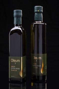 Oleum I // Greek Extra Vigrin Olive Oil by Yannis Kazantzoglou, via Behance