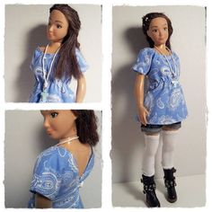 Lammily Doll Outfit / Tunic Legwarmers And by LammilyOutfits
